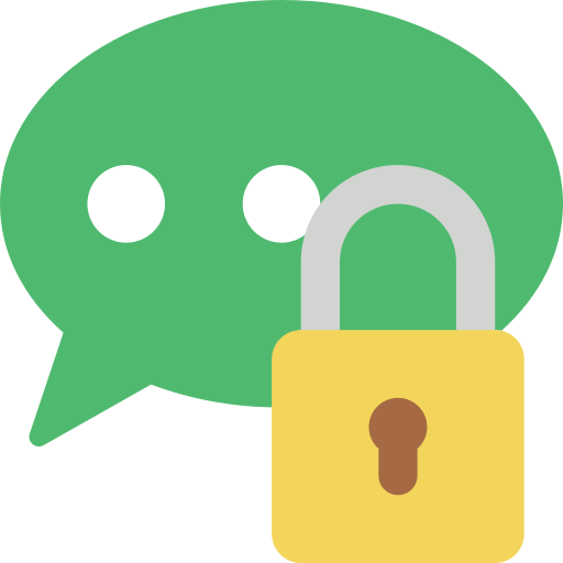 Chat lock Feature Icon