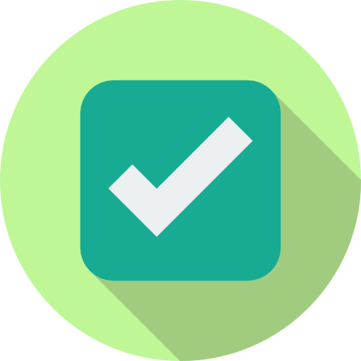 Blue tick Feature Icon